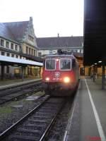 allgemein/55639/nachdem-der-ec-von-zwei-218er Nachdem der EC von zwei 218er für die weitere Reise übernommen wurde, wartete die 421 371-6 auf den Gegenzug nach Zürich.